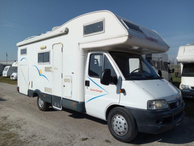 CI INTERNATIONAL Riviera Garage camper mansardato usato